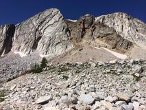 Montañas de la gama Nevado que sorprenden Foto de archivo libre de regalías