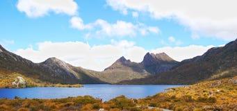 Montañas de la horquilla Fotos de archivo libres de regalías