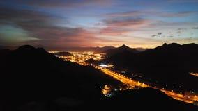 Montañas de La Meca Fotografía de archivo