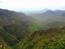 Montañas de la monzón Imagenes de archivo