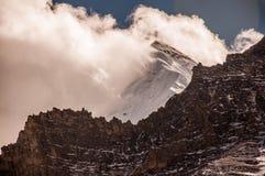 Montañas de la nieve en Aden National Reserve, Szechwan Fotos de archivo libres de regalías