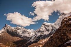 Montañas de la nieve en Aden National Reserve, Szechwan Fotografía de archivo