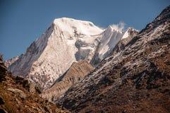 Montañas de la nieve en Szechwan Fotografía de archivo