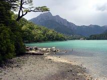 Montañas de la Patagonia foto de archivo libre de regalías