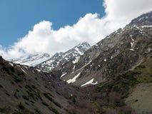 Montañas de la península crimea Imagenes de archivo