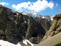 Montañas de la península crimea Foto de archivo
