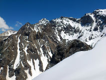 Montañas de la península crimea Imagen de archivo libre de regalías