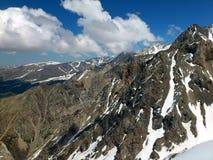 Montañas de la península crimea Imagen de archivo