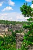 Montañas de la piedra arenisca Fotografía de archivo