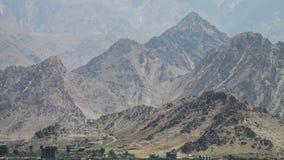 Montañas de la piedra y de la arcilla almacen de video