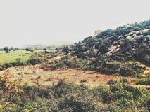 Montañas de la roca Imagen de archivo libre de regalías