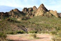 Montañas de la superstición Foto de archivo libre de regalías