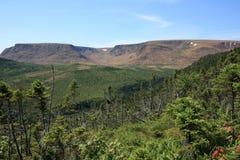 Montañas de las altiplanicies Imagen de archivo