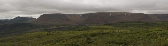 Montañas de las altiplanicies Foto de archivo