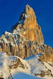 Montañas de las dolomías - Pale di San Martín foto de archivo libre de regalías