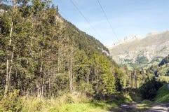 Montañas de las montan@as Imágenes de archivo libres de regalías