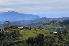 Montañas de Livingstone Imagen de archivo libre de regalías