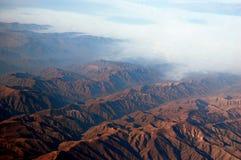 Montañas de los Andes Imágenes de archivo libres de regalías