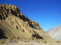 Montañas de los Andes Fotos de archivo