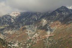 Montañas de los Andes fotografía de archivo