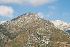 Montañas de los Andes imagenes de archivo