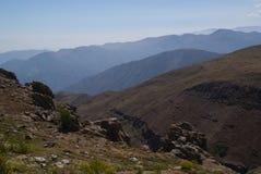 Montañas de los Andes Fotografía de archivo libre de regalías