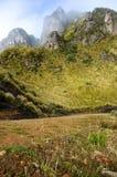 Montañas de los Andes en Mojanda Imagen de archivo