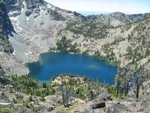 Montañas de los diablos del lago siete sheep foto de archivo libre de regalías