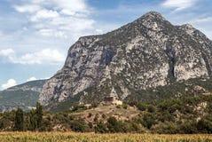 Montañas de los Pirineos Imágenes de archivo libres de regalías