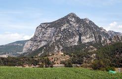 Montañas de los Pirineos Foto de archivo libre de regalías