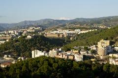 Montañas de Málaga imágenes de archivo libres de regalías