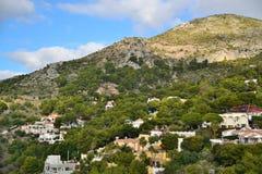 Montañas de Málaga fotos de archivo libres de regalías