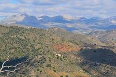 Montañas de Málaga imagen de archivo