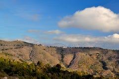 Montañas de Málaga foto de archivo