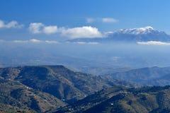 Montañas de Málaga imagenes de archivo