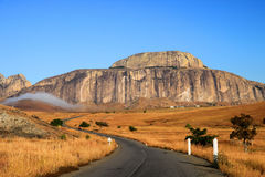 Montañas de Madagascar Imágenes de archivo libres de regalías