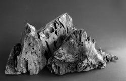 Montañas de madera Fotografía de archivo libre de regalías