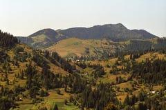 Montañas de Maramures Foto de archivo libre de regalías