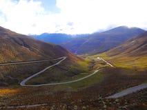 Montañas de Merida Venezuela. Imagen tomada en Merida Venezuela ruta hacia el pico del Aguila Stock Images
