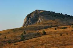 Montañas de montañas crimeas Fotografía de archivo libre de regalías