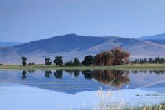 Montañas de Montana Fotos de archivo