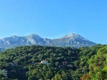 Montañas de Montenegrian Foto de archivo libre de regalías