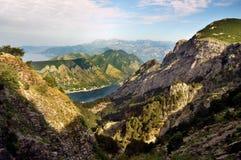 Montañas de Montenegro Fotografía de archivo libre de regalías