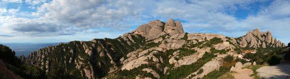 Montañas de montserrat Foto de archivo