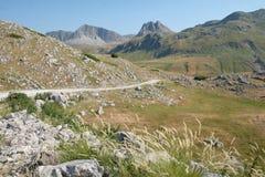 Montañas de Moraca del paisaje, Montenegro imagen de archivo libre de regalías