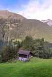 Montañas de Murren fotos de archivo libres de regalías