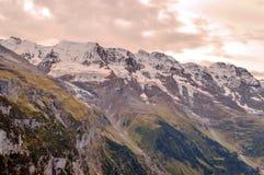 Montañas de Murren fotografía de archivo libre de regalías