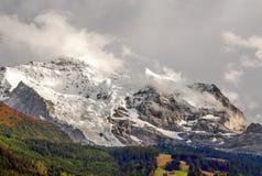 Montañas de Murren fotografía de archivo