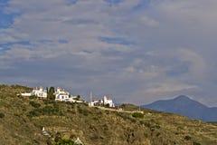 Montañas de Nerja fotos de archivo libres de regalías