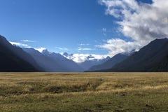 Montañas de Nueva Zelanda Imagen de archivo libre de regalías